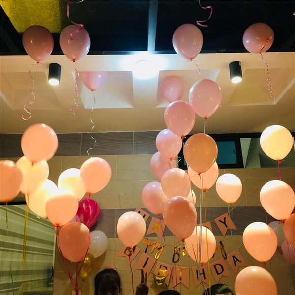 Cheap 100pcs 10 15g Round Shape Latex Pearl Balloons Party Decorate Valentines Day Happy Birthday Wedding Decoration Balloon