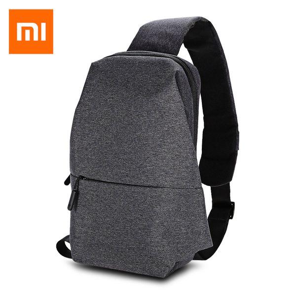 Original Xiaomi 4L Backpack Sling Bag Polyester Leisure Chest Pack Small Size Shoulder Type Unisex Rucksack Crossbody Bag