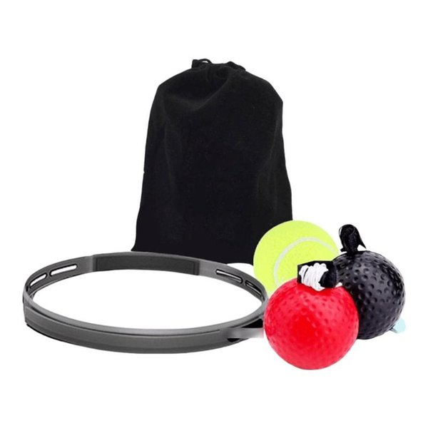 6.3cm Silicone Cloth Boxing Speed Trainer Ball Adjustable Magic Decompression Fight Ball Training Equipment Accessories