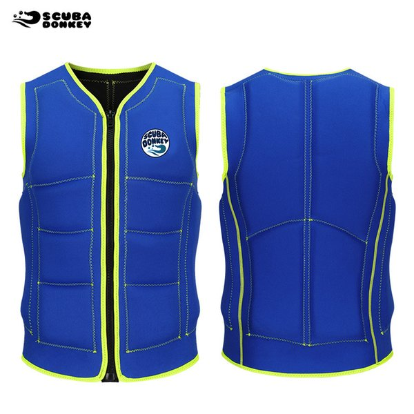 Men Women Floating Fishing Swimming Boat Drifting Vest Traditional Life Jacket