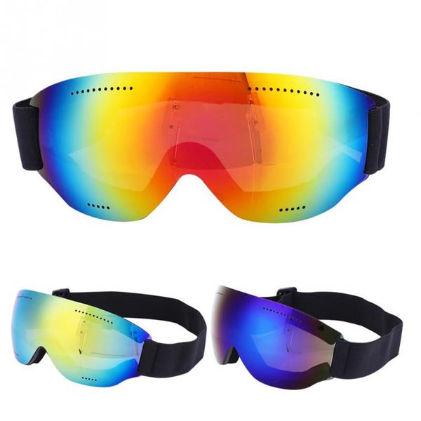 Professional Ski Snowboard Goggles Single Layer Mountain Skiing Eyewear Snowmobile Winter Sport Windproof Goggle Snow Glasses
