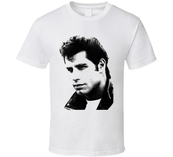 camicia John Travolta Grease Movie T parti superiori di estate T-shirt divertente fredda