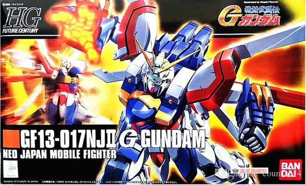 2018 bandai HGUC 110 1/144 HGFC GF13-017NJII Gundam Mobile Suit Assembly Model Kits Anime action figure lbx toys