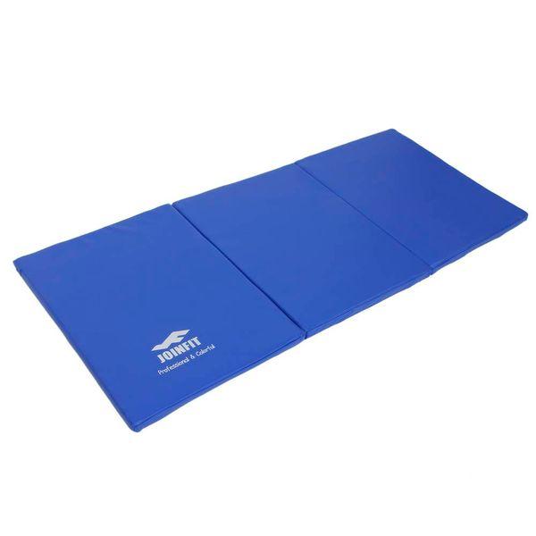JOINFIT Folding Gymnastics Yoga Mat Blue Orange Foam soft, non-slip surface home Fitness Exercise US Stock