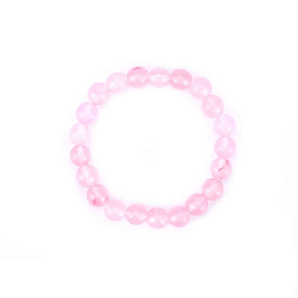 Fashion High Quality Natural 8mm Gorgeous Healing Stretch Beaded Bracelet Unisex Hot Sale