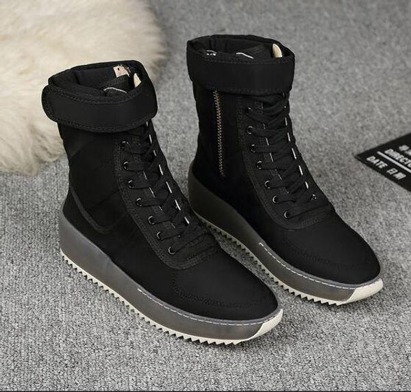 yangyangyuanchuang / Temor de Deus Nevoeiro Botas de Inverno Com Caixa Original Made in Italy Homens Mulheres Sapatos de Inverno temor de deus sapatos botas militares