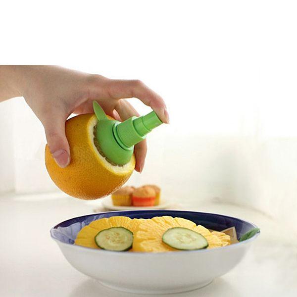 2Pcs/set Lemon Sprayer Fruit Juice Citrus Spray De Cocina Kitchen Cooking Tools Gadgets Orange Juice Squeeze Hand Juicer