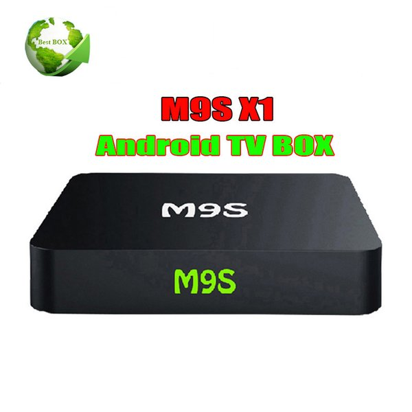 Hot M9S X1 Android TV BOX Amlogic S905X Quad Core Marshmallow Smart Box TV 4K Mini PC Wifi HDMI ROM 1G/8G Better MXQ PRO RK3229