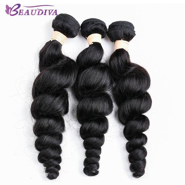 "Grade 8A Cheap Brazilian Loose Wave Virgin Hair Bundles 3 Pieces/Lot NO Shedding&Tangle Brazilian Wave Human Hair Extension 8""-24 On Sale"