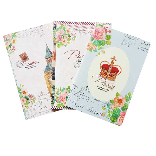 1pcs/lot Retro London Paris A5 book Daily journal Notepad fancy School Office material Stationery