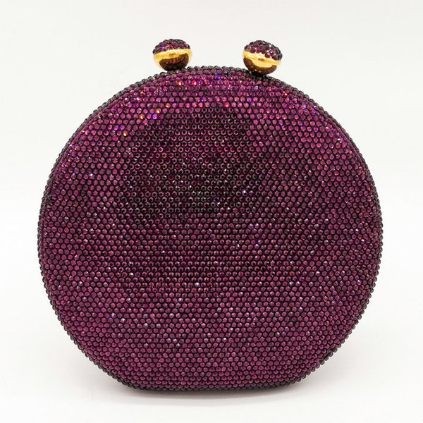 Purple Crystal Bag
