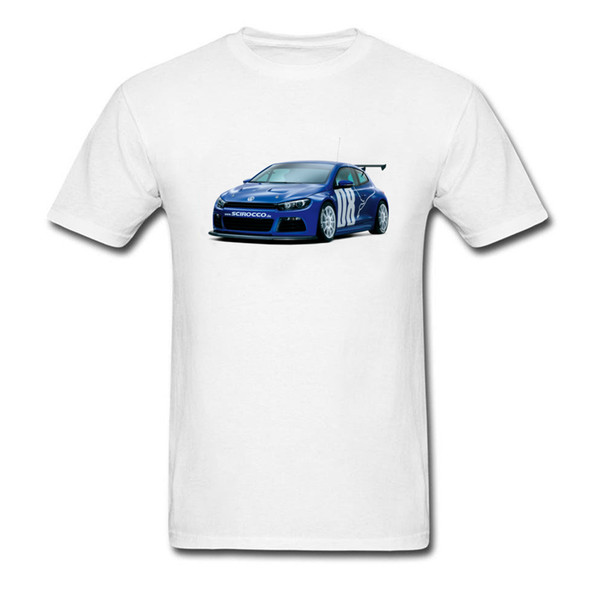 Plus Size White T Shirt Mens Simple Style Cotton Clothes Shirt Race Game Cars Print T-Shirts Summer Amazing Cool Tshirt For Boy