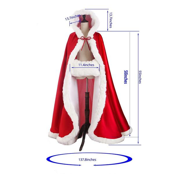 Romantico immagine reale con cappuccio da sposa capo avorio bianco da sposa lungo mantello faux fur per l'inverno da sposa avvolge da sposa mantello da sposa plus size cpA1