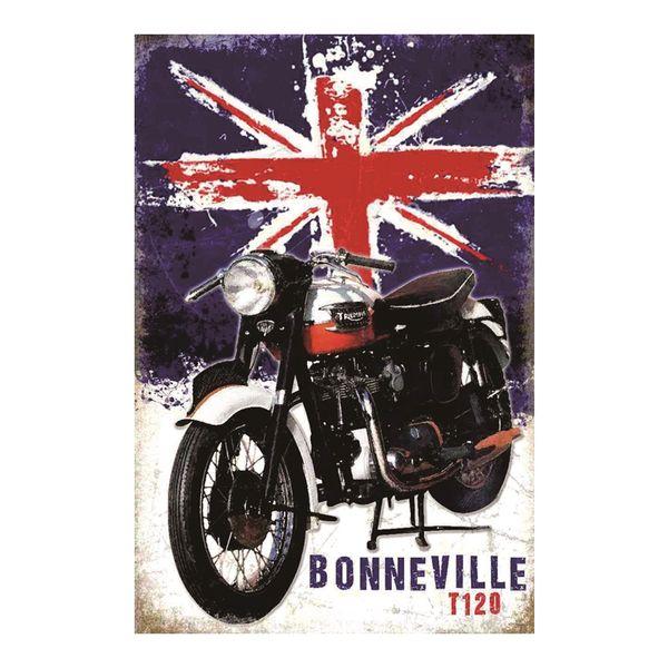 BONNEVILLE T120 vintage tin sign home Bar Pub Hotel Restaurant Coffee Shop home Decorative Retro Metal Poster