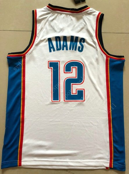 cheap for discount 0dd7b 97c3a 2018 Printed 17 Dennis Schroder Jerseys Russell Westbrook Paul George  Steven Adams Andre Roberson Alex Abrines Jerami Grant Men Women Youth Kids  From ...