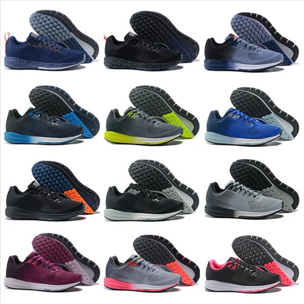 Livraison Gratuite Pas Cher Structure 21 Hommes Femmes Chaussures De Course 2018 Nouvelle Mode De Haute Qualité Maille Chaussures De Sport En Plein Air Taille US 5.5-11