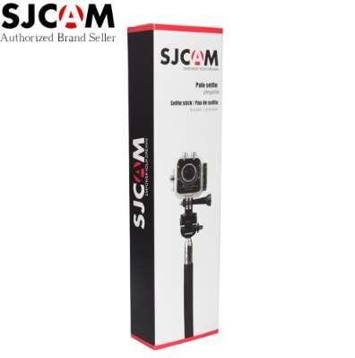 SJCAM marca de aluminio de mano monopie extensible con trípode Selfie Stick para SJ4000 SJ5000 M10 serie SJ5000X Sports Action Cam