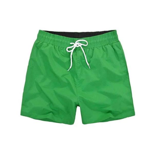 2018 verão praia homens calções de cor sólida de algodão casuais solto  elástico na cintura calções 6e717600e57ec