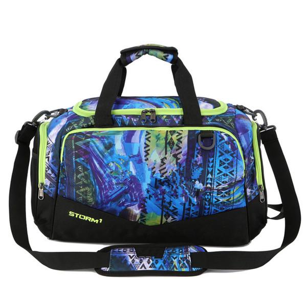 Unisex U&A Duffle Bag Travel Handbag Under Waterproof Nylon Shoulder Tote Bags Large Capacity Handbags Outdoor Sports Bag Luggage Storage
