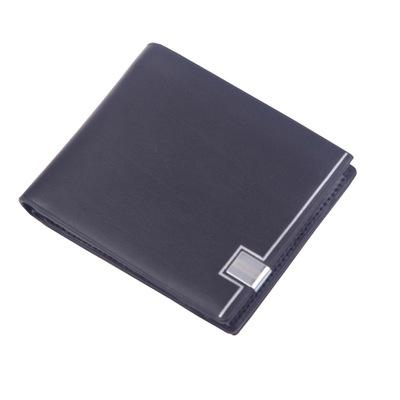 Luxury men's fashion leather wallet MB short clip brand designer card package MT business card holder high quality M B crocodile patter