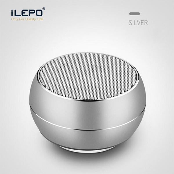 R9U Mini Bluetooth Speaker Bluetooth 4.1 Portátil Colorido Subwoofer De Metal Suporte TF Cartão Com Caixa de Varejo Multifunction Roda