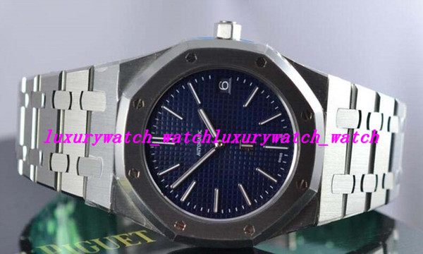 Luxury Watches 15202st.oo.1240st.01 Blue Dial 39mm Automatic Movement Men Watches Men's Watch Top Quality