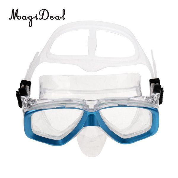 MagiDeal Adult Glass Templado Scuba Diving Mask antivaho gafas de natación snorkel