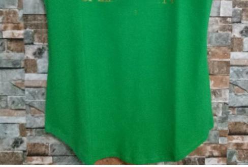 Зеленый (золотые буквы)