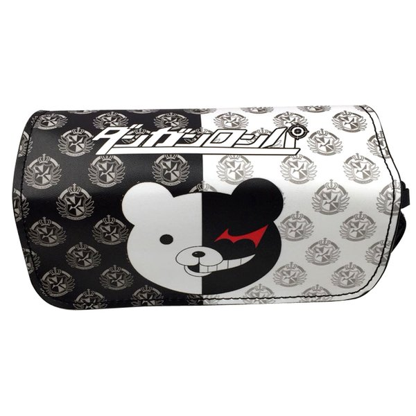 Anime Danganronpa monokuma Pencil Case Stationery Bag Cosmetic Bags