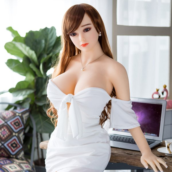 Big Breast sex doll 158cm Realistic Real Silicone Sex Dolls Adult Male Love Doll Adult Sex Toys Macromastia Plump buttocks Poupée sexuelle