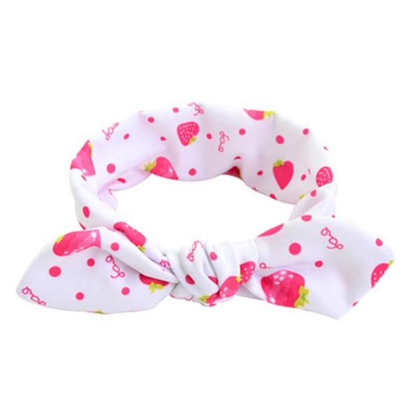 Xmas Bohemian cotton girl baby bow Headband Wave point Turban Twist Head Wrap Twisted Knot Soft Hair band Headbands Bandanas