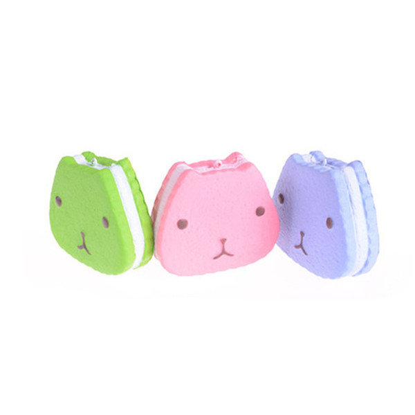 Jumbo Fashion Squishy Slow Rising Otters Scented Bread Squeeze Fun Toy Christmas Gifts For Kids Cute Phone Charms Straps 10CM