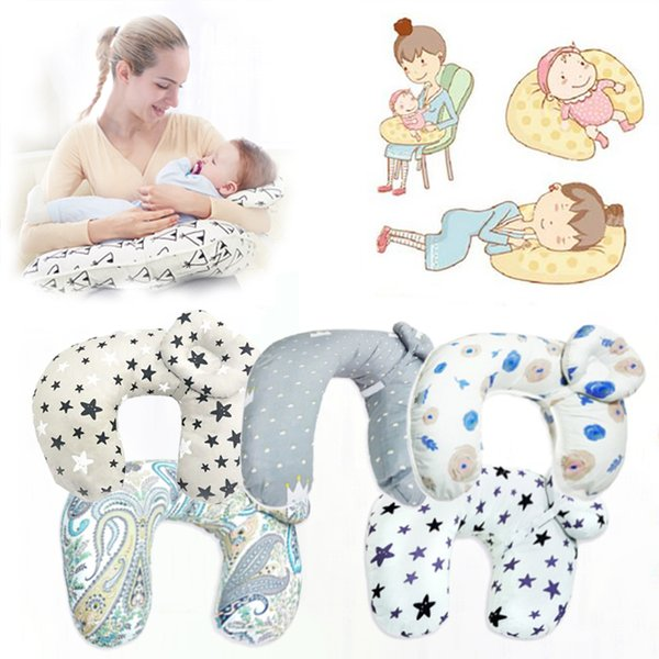 2Pcs Maternity Baby Breastfeeding Pillow Baby Multifunction Nursing Pillow Infant Cuddle Newbron Cotton Feeding Waist Cushion