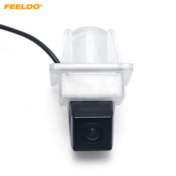 top popular FEELDO Special Rear View Car Camera For Mercedes-Benz C Class E Class Reverse Backup Camera #4798 2021
