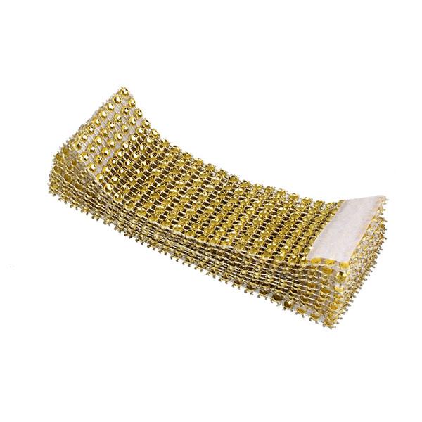 10pcs Rhinestone Designed Napkin Ring Holder Dinner Wedding Banquet Decor