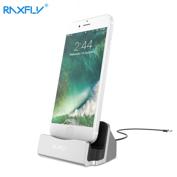 wholesale Desktop Charging Stand Holder Base For iPhone 7 6S 6 Plus 5 5S SE Charger Dock Holder Stand Station For iPad Mini 4 3 Air