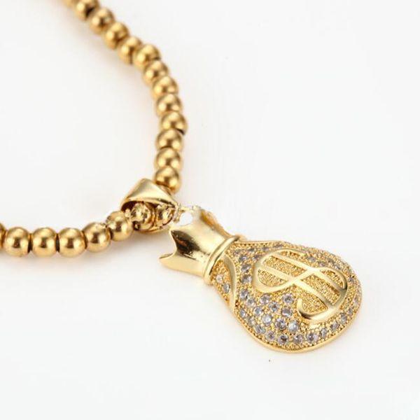 stainless steel gold Natural Healing Stone Bracelets for Men Women Beaded Bracelets Elastic Prayer Beads Bracelet for Men Unisex