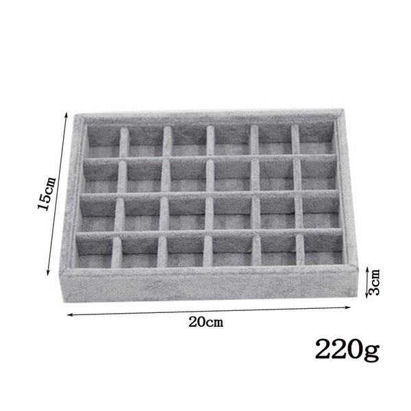 24 grids tray