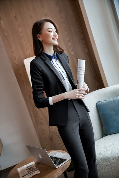 Black pant suit