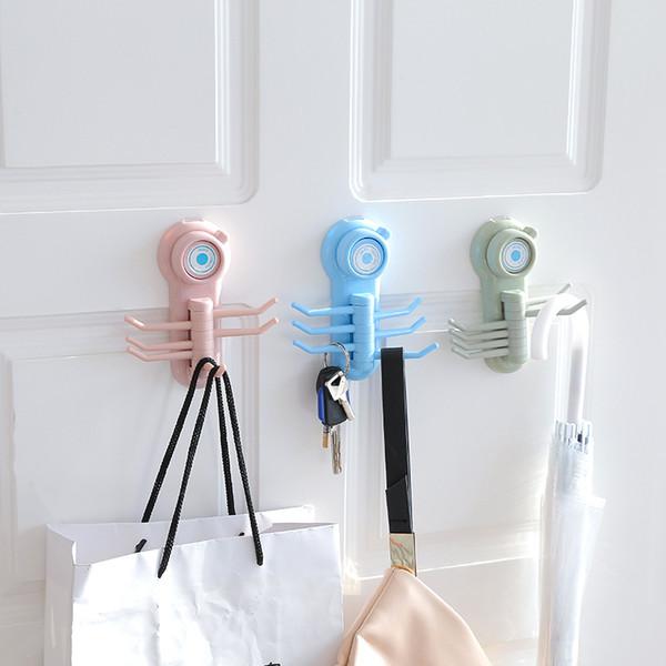 Porte-serviette moderne Hanger Crochets muraux ventouse Salle de bain