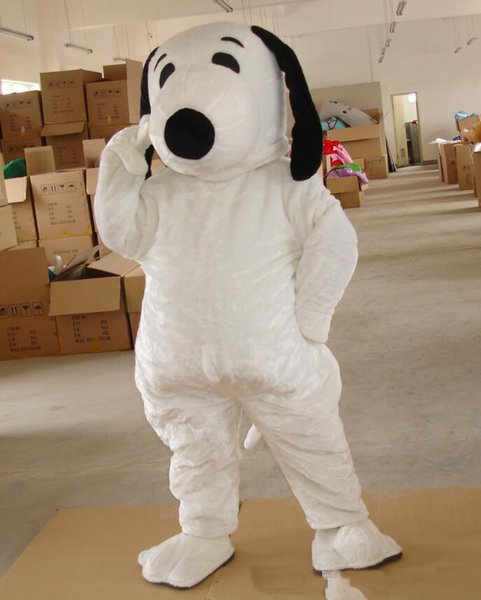 best selling 2018 High quality EPE Adult Size Snoopy Dog Mascot Costume Halloween Chirastmas Party Fancy Dress