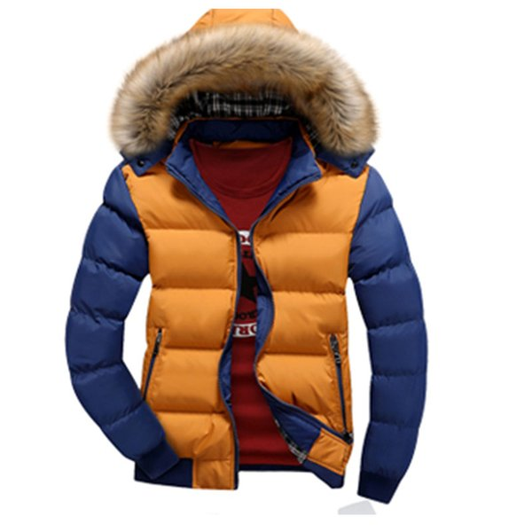 Hot Sale Plus Size Parkas Men Hooded Down Jacket Coat Thick Winter Jackets Warm Duck Down Men's Hooded Packable Outwear Jacket