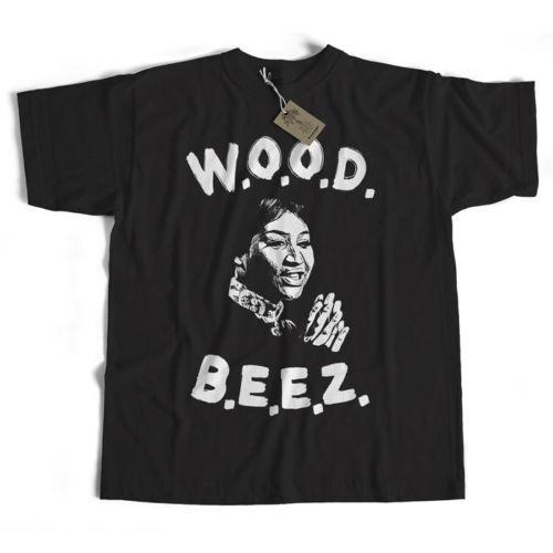 Eski Skool Hooligans W.O.O.D.'den Scritti Politti T-Shirt'den esinlenildi. B.E.E.Z. Komik ücretsiz gönderim Unisex Casual