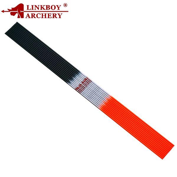 Linkboy Archery Carbon Arrow Shafts 30 pollici SP800-1000 ID4.2mm Compound Ricurvo Bow Shooting Accessori esterni