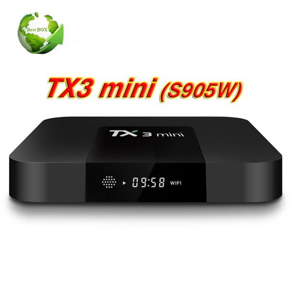 Amlogic S905W Quad Core TV BOX TX3 mini 1GB 8GB Internet Android 7.1 TV Boxes Wifi DLNA BETTER MXQ PRO 4K S905W