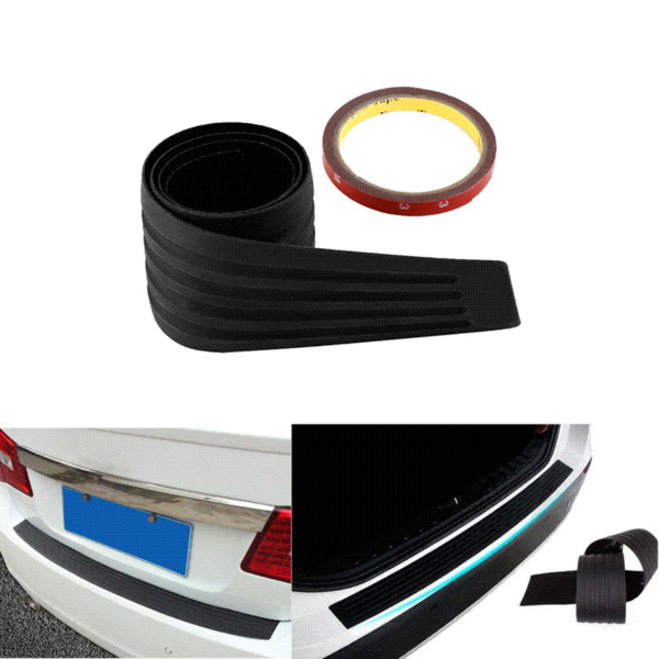 Car rear trunk bumper Protector Sill Plate Scuff Trim Cover For VW POLO Golf 4 6 7 CC Tiguan Passat B5 B6