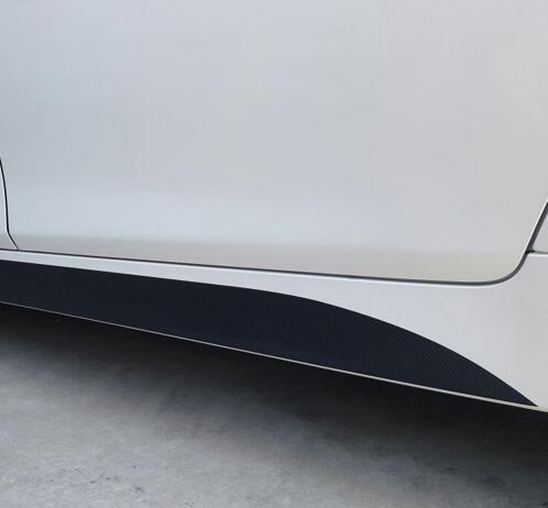 Matte/Gloss/5D Black New M Performance Side Skirt Matte Sticker Decal For BMW 3 series F30 316i 320i 328i 335i 2013-2015