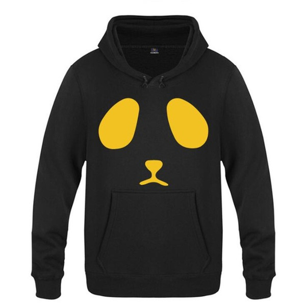 Mens Hoodies Panda Printed Hoodie Männer Anime Fleece Long Sleeve Sweatshirts beiläufige Winter Oversized Pullover Mannes Kleid Moletom