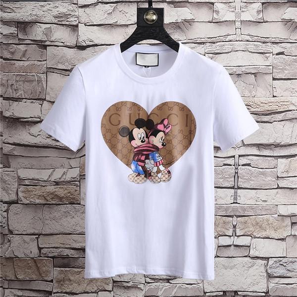 18ss auge t-shirt neueste g mode lässig männer marke herren kurzarm t-shirt o-kopf medusa bat tiger t-shirt jacke shirt 3Xl