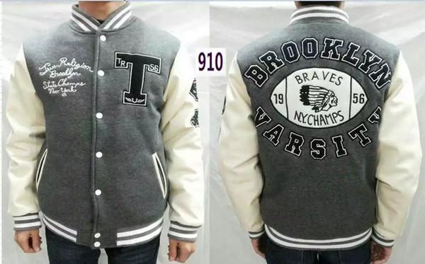 Moda Amerikan Tarzı Tasarımcı erkekler ceket ABD boyutu Marka gerçek eşofman adam Spor Takım Elbise ceket ceket tr jeans Hoodie Tişörtü